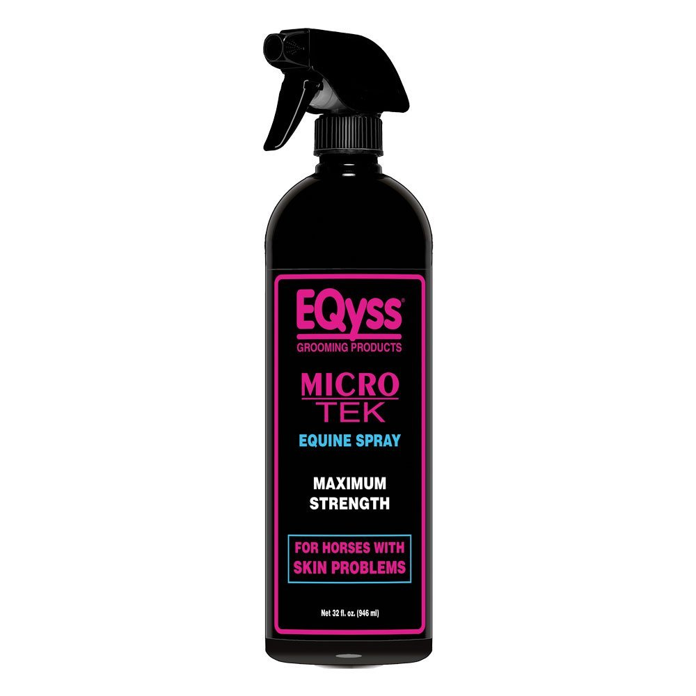 EQyss Micro-Tek Equine Spray - Stop Scratching, Itching, and Biting Eqyss Micro-Tek Spray 128 oz EQyss Grooming Products Inc. 10060