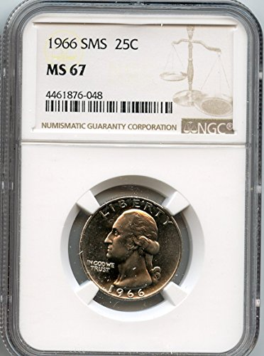 1966 Washington Quarter MS-67 NGC