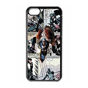 Captain America Comics YC04EW1 funda iPhone Teléfono celular 5c caso funda O6UE5L8AH