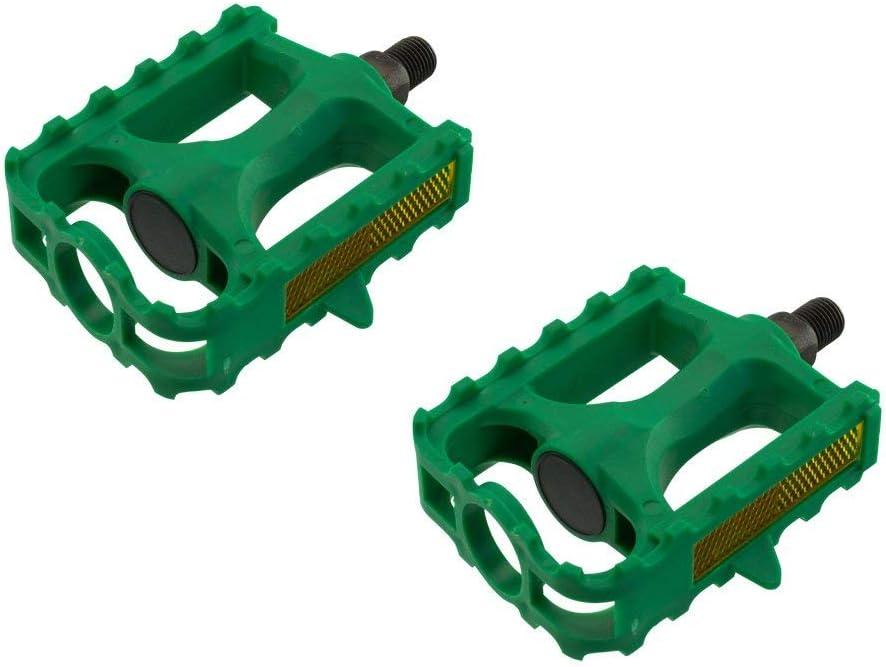 Various Sizes and Colors Fenix Plastic 543 MTB Bike Pedals