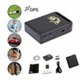 Paddsun Mini Spy Vehicle Real time Tracker For GSM GPRS GPS System Tracking Device TK102 Color Black