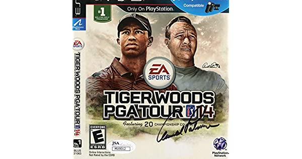 Amazon.com: Arnold Palmer Autographed Signed Tiger Woods ...