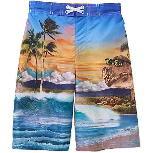 Op Boys Swim Shorts Trunks (Dinosaur Swim Trunks)