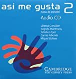 img - for As  me gusta 2 Audio CD (Spanish Edition) book / textbook / text book