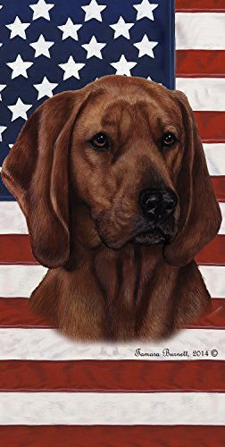 Red Bone Hound (Red Bone Coonhound - Best of Breed Patriotic II 60