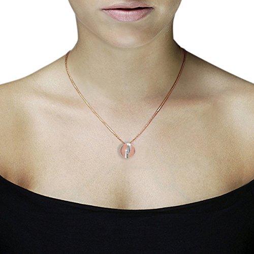 goldmaid Femme  9carats (375/1000)  Or bicolore #Gold Balle   Blanc Diamant FINENECKLACEBRACELETANKLET