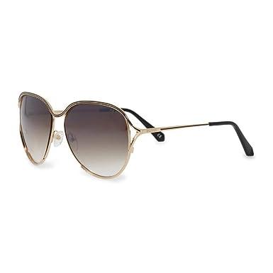 5ad62d723 Amazon.com: BALMAIN BL 2528 Matte Black Lilac Gold Oversized Metal Gradient  Sunglasses BL2528: Clothing