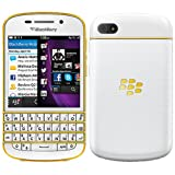 Blackberry Q10 SQN100-3 16GB 4G LTE Unlocked GSM OS 10 Phone - White/Gold