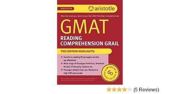 GMAT Reading Comprehension Grail: Aristotle Prep
