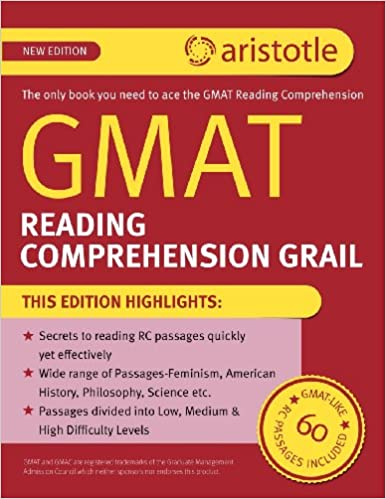 GMAT Reading Comprehension Grail: Aristotle Prep: 9789350872864