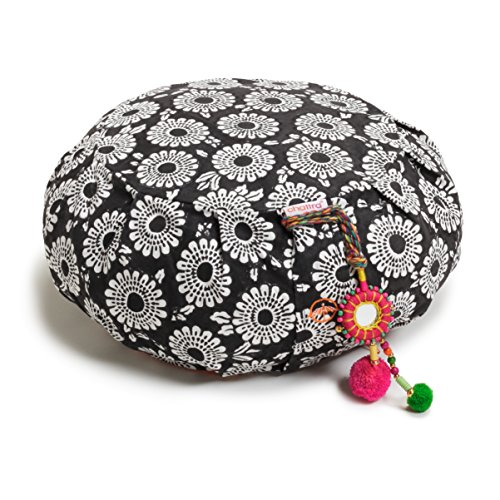 Chattra Black Marigold Zafu & Zabuton Meditation / Yoga Set