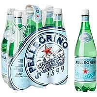 Agua mineral con gas San Pellegrino 6 x