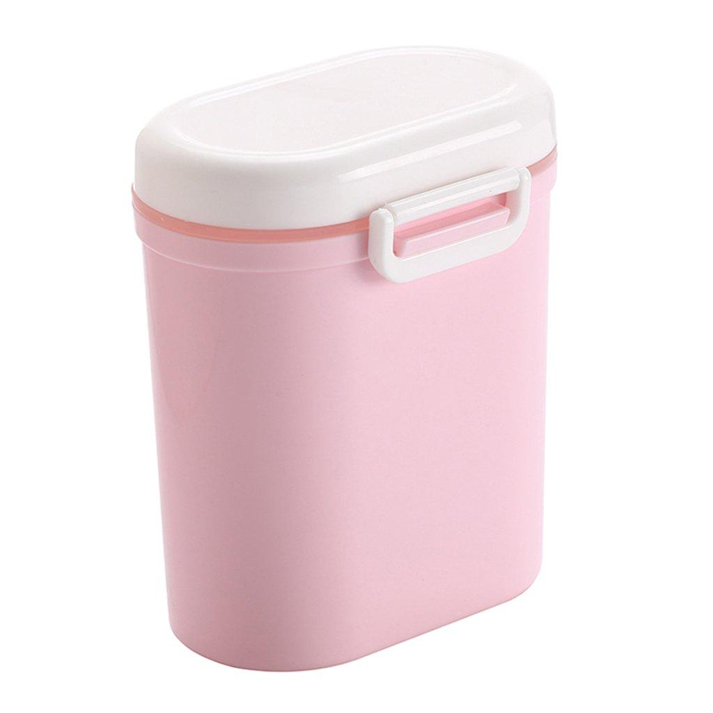 Baoblaze Dispenser Di Latte In Polvere Per Contenitore Per Alimenti Per Caramelle Di Frutta Per Bambini Sigillato - Blu grande, Taglia unica