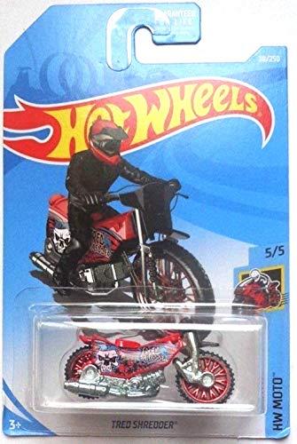 Hot Wheels 2019 HW Moto Tred Shredder (Dirt Bike) 38/250 Red (Best 250 Dirt Bike 2019)