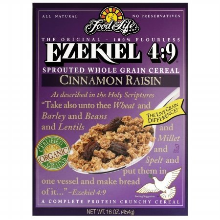 Food For Life Cereal Ezkl Cinn Raisin O by Food for Life