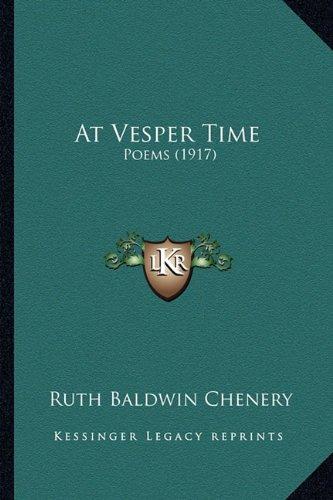 At Vesper Time: Poems (1917) pdf