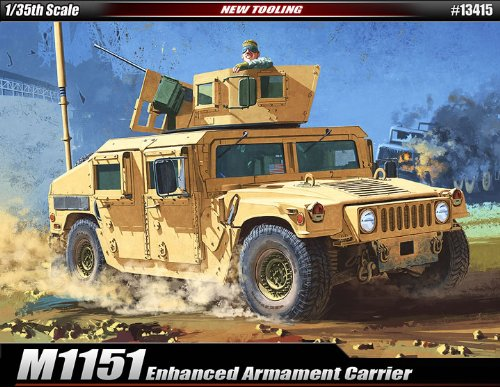 - Academy Plastics M1151 Enhanced Armament Carrier