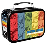 Vandor 74070 DC Comics Justice League Large Tin Tote, Multicolored