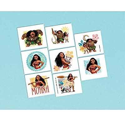 amscan Moana Collection, Birthday One Size, Multicolor 399696: Toys & Games
