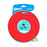 Chuckit! Zipflight Fly, Float & Fetch Frisbee Toy For Dog & Puppy Medium