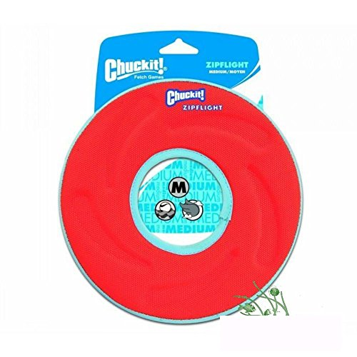 Chuckit! Zipflight Fly, Float & Fetch Frisbee Toy For Dog & Puppy Medium by Unknown
