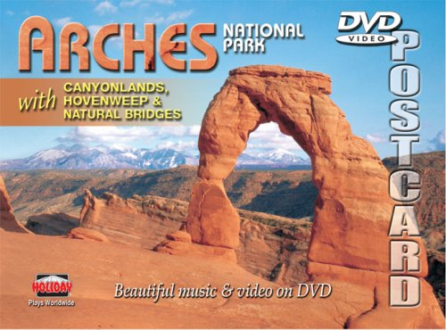 Arches National Park DVD Postcard