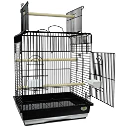 Kings Cages ES 2521 P bird cage toys toy Small Conures Cockatiels Amazons (Black)