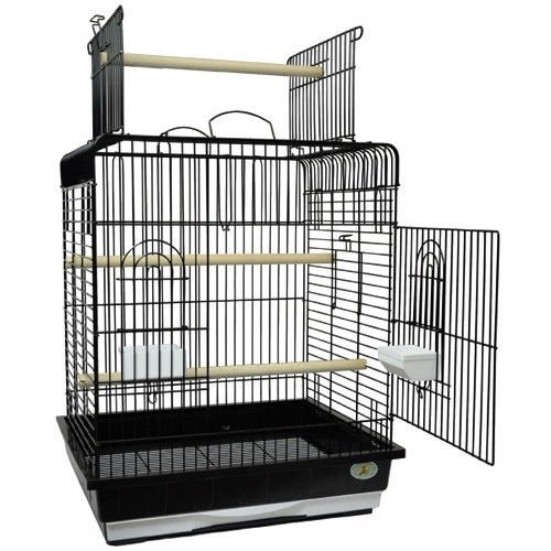 King's Cages ES 2521 P Bird cage Toys Toy Small Conures Cockatiels Amazons (Black) by King's Cages