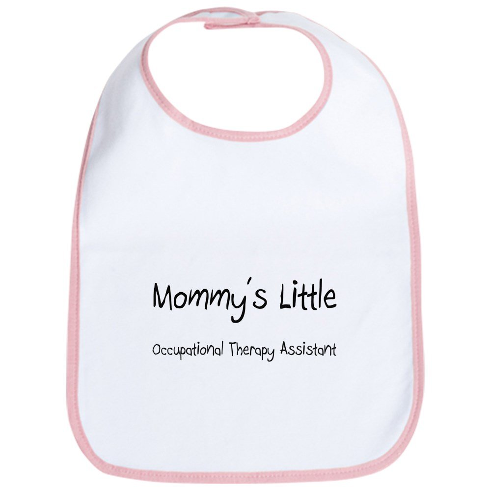 CafePress - Mommy's Little Occupational Therapy Assistant Bib - Cute Cloth Baby Bib, Toddler Bib