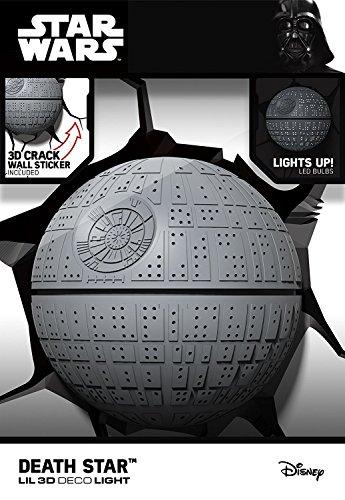 Blue Sky Wireless Lil' Death Star 3D Deco Light