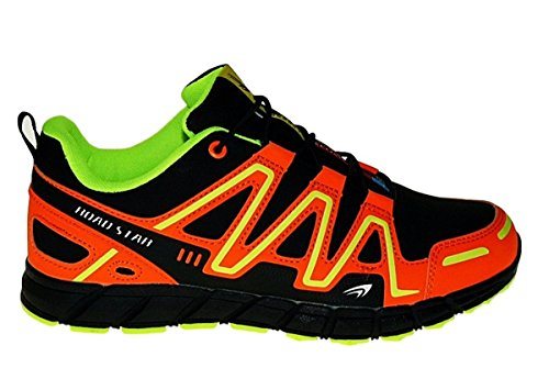 Bootsland Art 735 Neon Turnschuhe Schuhe Sneaker Sportschuhe Neu Herren