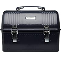 Stanley Classic Lunch Box, Hammer Tone Navy, 10-Quart
