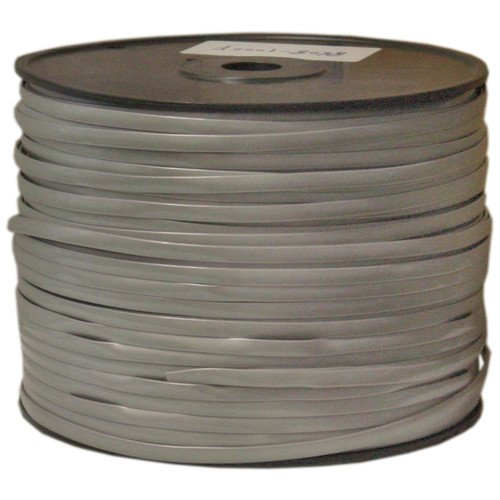CableWholesale's Bulk Phone Cord, Silver Satin, 28/8 (28 AWG 8 Conductor), Spool, 1000 foot by CableWholesale