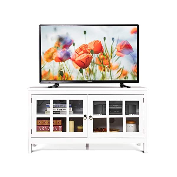 Best TV Stand White REV