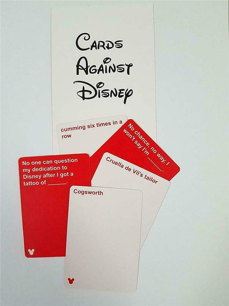 Cards Game Against Disney The Table Cards Game Party Cards Game for Adult