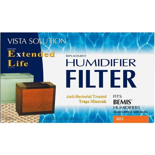Rps Humidifier Wick Filters 17 '' X 4-7/8 '' X 9-7/8 '' Fits All Bemis Consoles by BestAir by BestAir