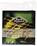 Black Diamond N754M Silverwound Acoustic Guitar Strings, Medium