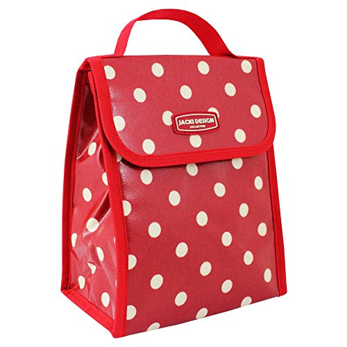 jacki-design-polka-dot-insulated-lunch-bag-m-red