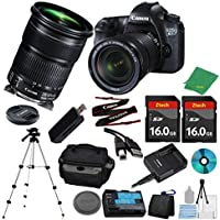 Canon EOS 6D DSLR with 24-105mm IS STM ZeeTech + 2pcs 16GB Memory Card + Camera Case + Memory Card Reader + Tripod + 6pc ZeeTech Starter Kit - International Version