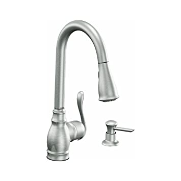 Moen Esrs Brantford Pull Down Kitchen Faucet