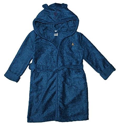 Gap Toddler Unisex Terry Bear Sleep Robe (4T, Blue) - Gap Girls Jacket