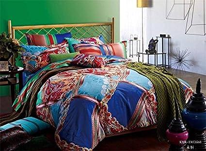 Norson Home Textiles, juego de ropa de cama de flores, hojas por funda de