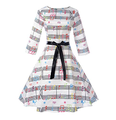 Dress Coolred Skinny Pattern2 Bandage Flared Women Line A Swing Printing Solid 6x6rqw1z7