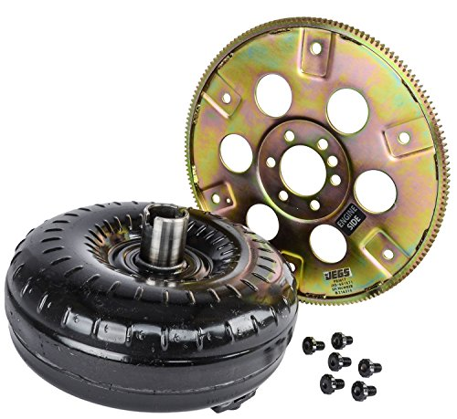 JEGS Performance Products 60402K Torque Converter and Flexplate Kit GM TH350/TH4