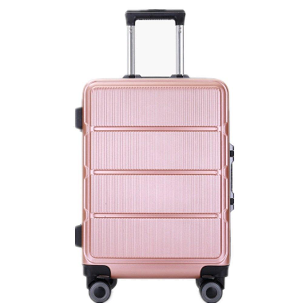 旅行用品荷物スーツケーストロリーケース プレミアム回転PCユニバーサルホイールプルロッドボックスビジネスケース、男性と女性のプルロッドスーツケース (サイズ : 24) B07SLPWPKP  24