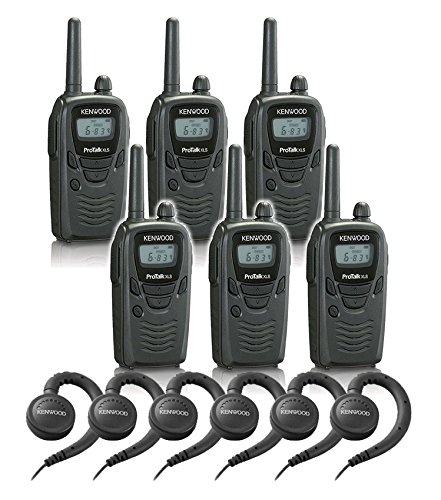 6 Kenwood TK-3230 Radios with 6 KHS-31 Headsets. by Pro Talk
