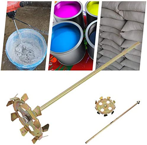 Little Fairy Fang Electric Mixing Rod Electric Drill Paint Putty Split Type Mixer Cement Double Rod Stirring Rod Mortar Mixer Paint Mixer Drywall Mud Mixer