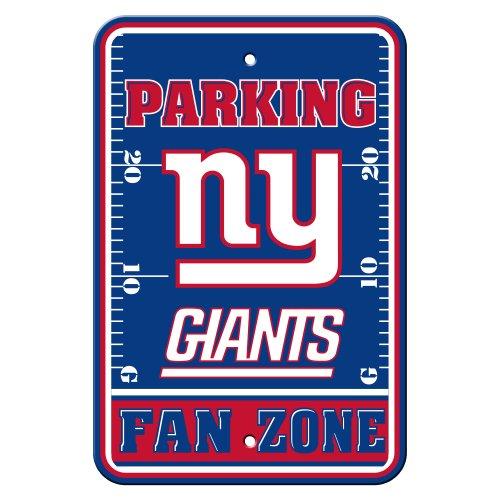 - Fremont Die NFL New York Giants Plastic Parking Sign