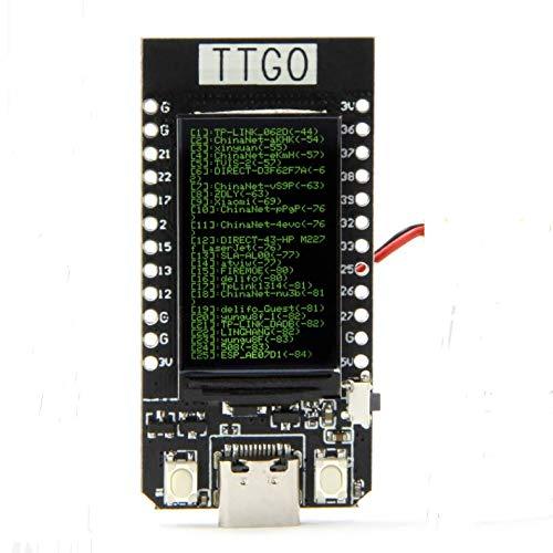 TTGO T-Display ESP32 WiFi and Bluetooth Module Development Board for  Arduino 1 14 Inch LCD