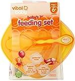 Vital Baby Baby's 1st Feeding Set, Orange